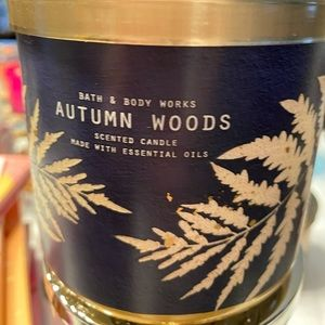 Autumn woods candle